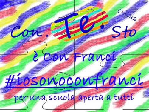 #Con.Te.Sto è con Franci  #iosonoconfranci