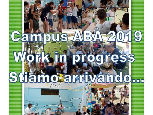 Campus ABA 2019 Work in progress…