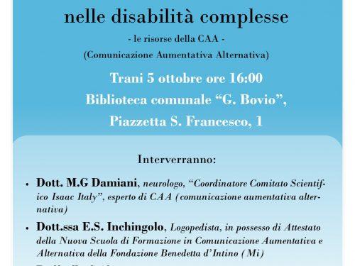Dare voce al diritto di comunicare nelle disabilità complesse