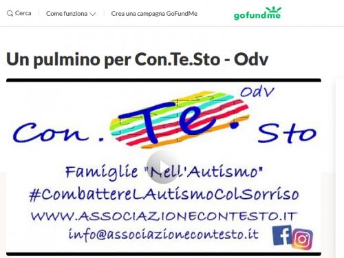 """Campagna raccolta Fondi """"Un pulmino per Con.Te.Sto"""""""